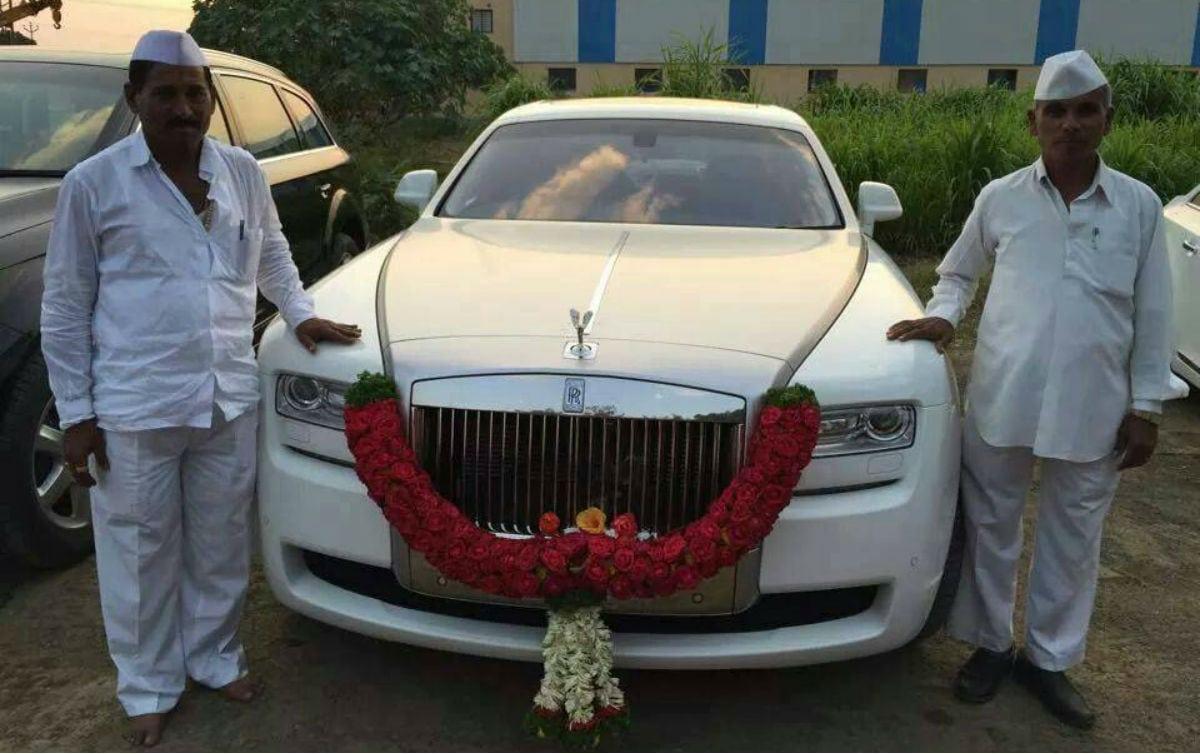 meet indian farmer owns fleet cars including rolls